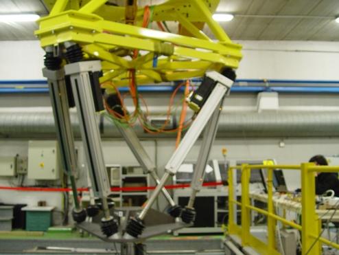 """6 DOF simulator """"Hexapod"""""""